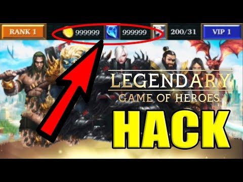 Howtoentercheatcodes.com/legendary-game-of-heroes-cheats-gems-and-items-hack